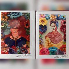 #fridakahlo Frida greeting cards - Art and photography by Marina Castillo  #marinacastillophotography #marinacastilloart Greeting Cards  #marinacastillophotography #marinacastilloart #greetingcards #etsyseller #etsy #EtsyShop #etsy : Marina Castillo Arte