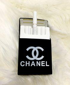 Rare BLACK Silicon Cigarette Case / Cigarette dispenser / Smoking Accessories