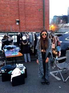 Recreate, at the Camberwell Rotary Market. Every Sunday. Brimming with local vintage stall holders.