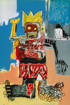 Jean-Michel Basquiat; Untitled, 1982. Acryl und Ölkreide auf Holzrahmen, 182.9 x 123.2 cm. Courtesy Tony Shafrazi Gallery, New York. © 2010 Jean-Michel Basquiat / ProLitteris, Zürich