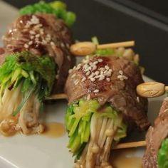 Hovězí rolky Negimaki Beef, Food, Meat, Essen, Meals, Yemek, Eten, Steak