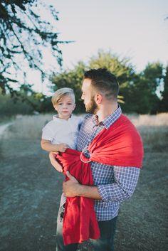 Dreamy Babywearing dad #babywearing #dad #father