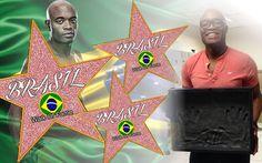 Anderson Silva (Spider UFC) entra para a Multi Calçada da Fama Brasileira
