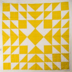 Brighter than a daffodil, this sunny Meghan Yellow Patchwork Quilt will make everything it touches more radiant.