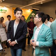 Song Joong Ki 송중기 at Samsonite RED 2013 F/W Presentation 현장 스케치 [130808]