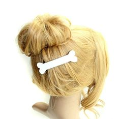 Concise White Lovely Handmade Lolita Hairpin