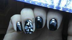 @Amy Jabara Blondie-Nails.co.uk Silver Nugget Foil Sheet & Studs.