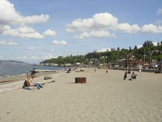 Alki Beach, Seattle--so many memories from high school spending time on this beach, by the fire, looking at the skyline and playing football, eating and listening to music with friends. I LOVE IT!