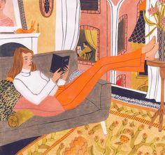 Illustration by Riikka Sormunen (via Illustrated Ladies)