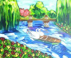 Boston's finest: Swan Boats.
