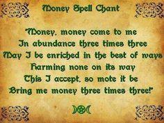The Money Spell