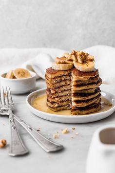 Chorizo cake fast and delicious - Clean Eating Snacks Gluten Free Pancakes, Tasty Pancakes, Banana Pancakes, Pancakes And Waffles, Eat Breakfast, Breakfast Recipes, Dessert Recipes, Desserts, Breakfast Photo