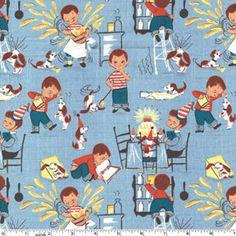 Little Chef fabric
