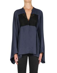 Look Twice Blouse Navy/Black