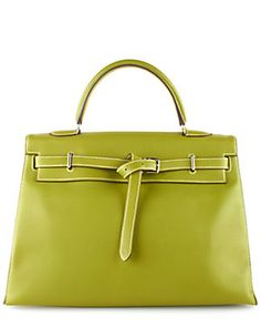 2ae9413dd522 Hermes Green Swift Leather Kelly Bag Director Creativo