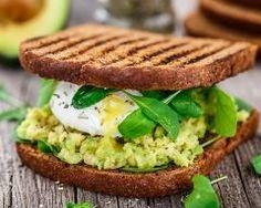 Sandwich au guacamole et œuf poché Ingrédients