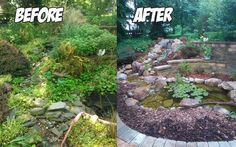 Pond Build Before & After (Ephrata, PA)