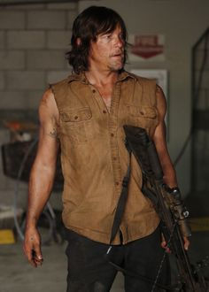 Norman Reedus as Daryl Dixon for Jimmy Kimmel Live