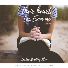 How to let God give you a heart checkup daily; preparing our hearts for #Easter in the book of #Mark. #Bible