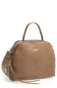 Furla Dome Satchel at Nordstrom.com. Lavish lizard embossing calls attention to the structured, vintage-inspired silhouette of a sophisticated satchel featuring gleaming goldtone hardware and an optional crossbody strap, while dual interior compartments make for effortless organization.