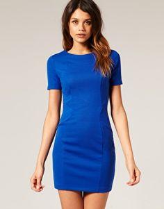 #asos Ponti Shift Dress $68.96