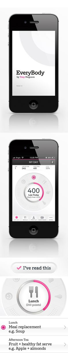#Mobile #iPhone #App on #Behance
