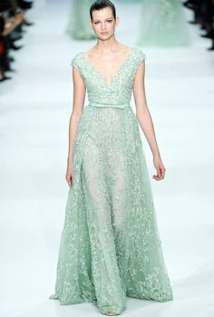 ah I do love me some colour  Elie Saab – 2013 Couture Collection All Sparkle and Shimmer