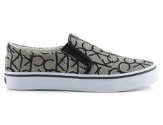 trampki calvin klein jeans re9597presley granite Calvin Klein Jeans, Granite, Slip On, Sneakers, Model, Shoes, Fashion, Tennis, Moda