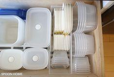 タッパー・保存容器の収納方法とアイデアのブログ画像