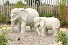 At SNGranite we offer a wide range of granite sculptures, planters, ornaments, fountains, and furniture. Deco Elephant, Elephant Love, Elephant Stuff, Animal Statues, Animal Sculptures, Stone Lion, Elephant Jewelry, Big Animals, Garden Ornaments