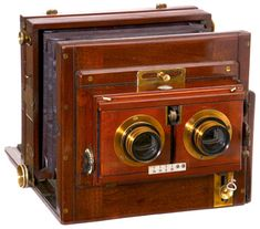 Antique Stereo Camera