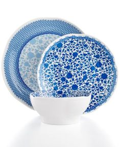 QSquared Q Luxe Heritage Melamine Dinnerware Collection