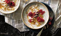 Healthy Creamy Porridge With Quinoa & Chia
