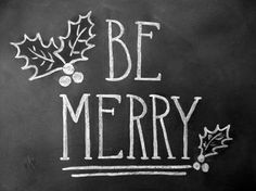 be merry (printable) | lily{and}val, etsy
