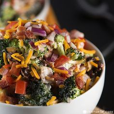 Broccoli Salad by Center Cut Cook