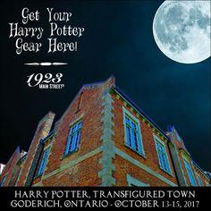 Harry Potter Festival, Town Transfigured, Goderich, Ontario #harrypotterfestival #goderich #towntransfigured https://1923mainstreet.com