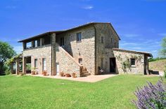 Property for sale in Umbria, This majestic house has been completely and prestigiously restored in stone and brick and is situated approximately 7 km. - http://www.italianhousesforsale.com/view/property-italy/umbria/terni/ficulle/9784577.html
