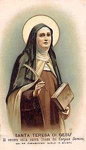 24 Ideas De Santa Teresa De Jesus Santa Teresa De Jesus Santa Teresa Teresa De Avila