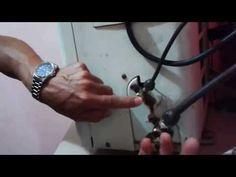 Recoger el gas a un equipo de aire acondicionado tipo Split sin manómetro - YouTube