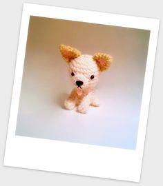 Amigurumi Chiguagua Puppy Crochet Toy