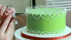 Oriental Stringwork Tutorial by Dawn Parrott by Cake Central