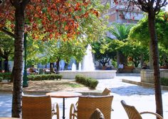 Agrinio, Greece Planet Earth, Places Ive Been, Serenity, Planets, Greece, Patio, Holidays, City, Outdoor Decor