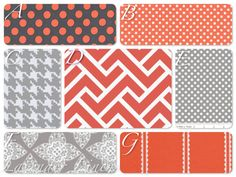 Crib bumper crib skirt and crib sheet in Coral by LavenderLinens, $299.00