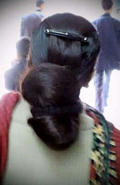 Long Hair Ponytail, Curls For Long Hair, Bun Hairstyles For Long Hair, Super Long Hair, Braids For Long Hair, Indian Hairstyles, Thick Hair, Braided Hairstyles, Beautiful Buns