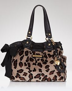 Juicy Couture - I'm not one for high-end brands, but I certainly wouldn't object to a leopard print purse!