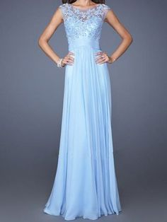 gorgeous blue gown