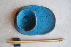 Sushi ceramic plates set of 2 dishes by christianesutherland, $58.00