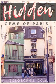 Secret Paris: if you're looking for quirky and unusual things to do in Paris, then this guide will introduce you to the best Paris hidden gems and secret destinations in France