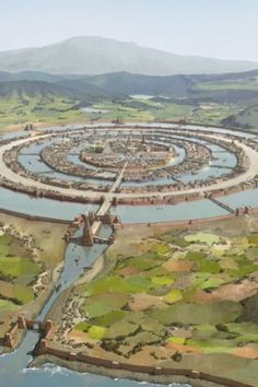 Atlantis The Lost Empire, Nazca Lines, Archaeological Discoveries, Fantasy City, Mystery Of History, Ancient Mysteries, Medieval Town, Lost City, Fantasy Inspiration