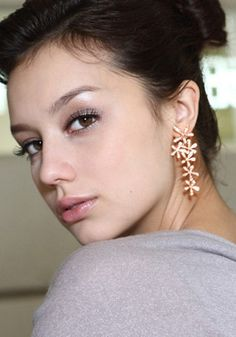 pretty floral earring